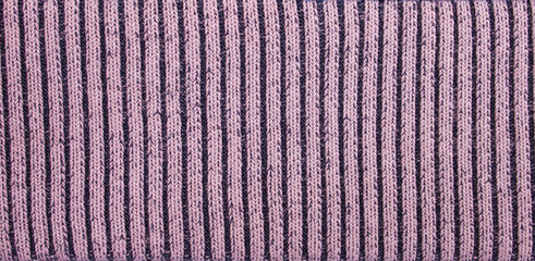 Ribbed Peace of Textile