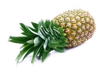 Ripe juicy pineapple.