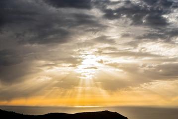 Sunset at La Palma, Canary Islands