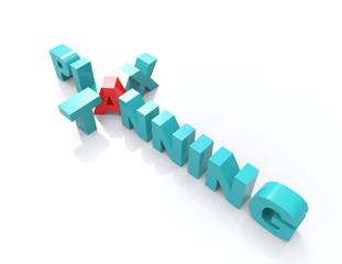 tax planning  crossword