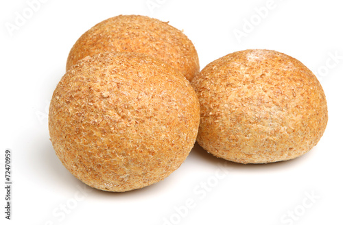 canvas print picture Wholewheat Bread Rolls