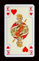 Spielkarten der Ladys - Herz Königin