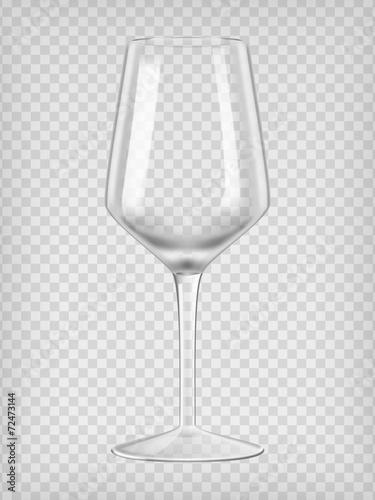 Empty wine glass - 72473144
