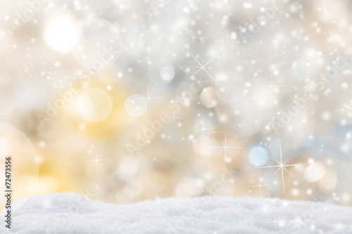 Leinwanddruck Bild Abstract Christmas background