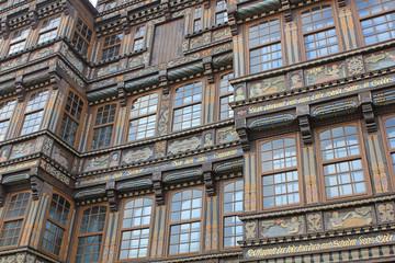 Hildesheim: Wedekindhaus am historischen Marktplatz (Nieders.