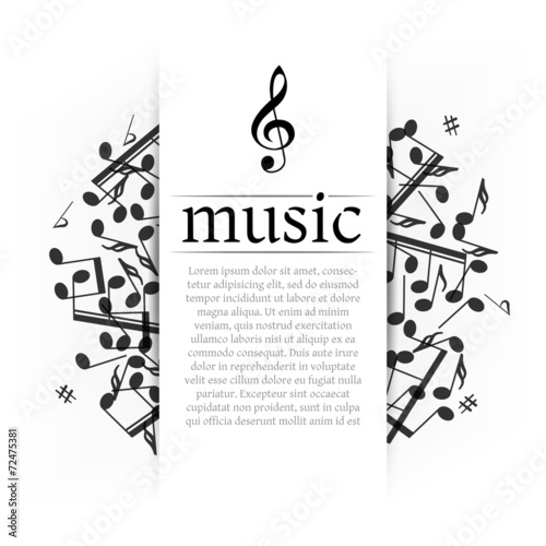 Musical background - 72475381