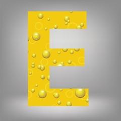 beer letter E