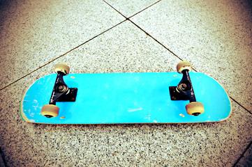 skateboard at skate park