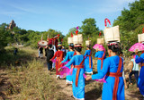 Amazing panoramic,Kate festival, Cham traditional culture poster