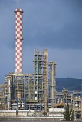 Refinery outside a big city