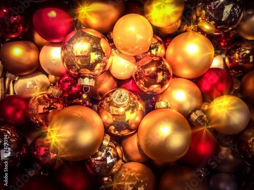 canvas print picture Stimmungsvolle Weihnachtszeit