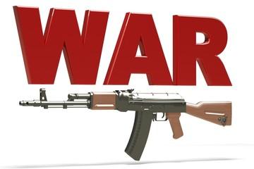 Illustrazione guerra