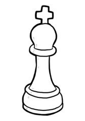 the King chess piece