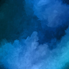 Night Sky Painting Vector Background
