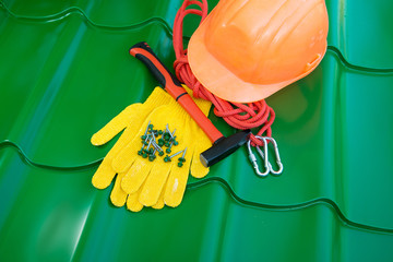 tools for repair of the roof