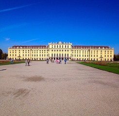 Beautiful palaces of Vienna Reap.