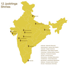 Twelve Jyotirlingas