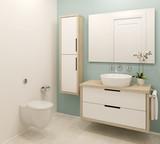 Modern bathroom interior. - 72485133