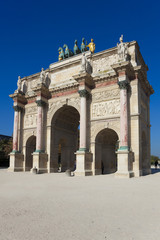 Arc de triomphe du carrousel, Paris, Ile-de-france, France