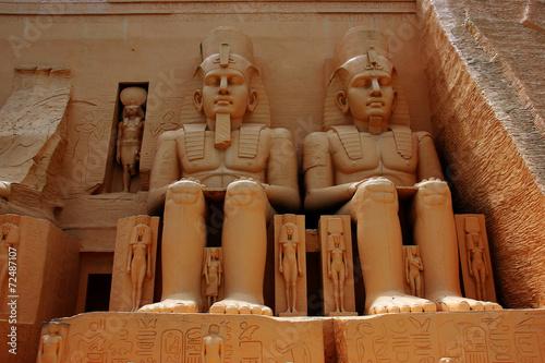 Staande foto Athene Statue Egypt .