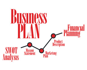 Business Plan Timeline vector concept