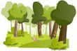 forêt de conte de fée