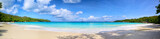 Anse Lazio beach panorama, Praslin Island, Seyshelles - 72489369