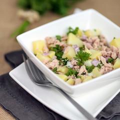 salade de pommes de terre & miettes de thon 2