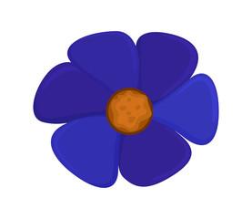 Purple Daisy Vector