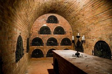Hungarian wine cellar