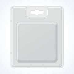 Plastic Square Transparent Blister With Hang Slot