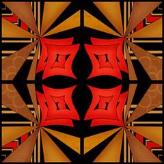 Oriental pattern modern elements texture background