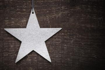 silberner Stern Weihnachten © Matthias Buehner