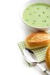 pea soup with bun
