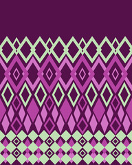 Seamless bright abstract pattern rhombuses texture geometric bac