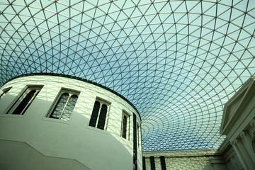 Interior of British Museum, London