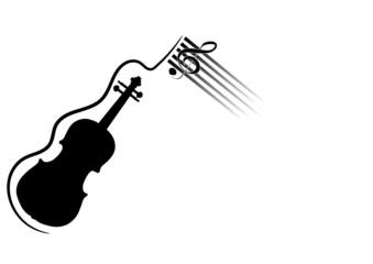 violino con chiave