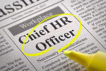Chief HR Officer Vacancy in Newspaper.