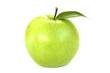 Постер, плакат: Зеленое яблоко