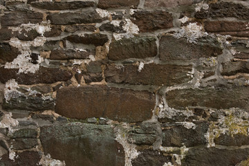 Old aged brick wall