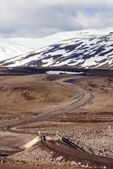 Icelandic F-Road (mountain road)