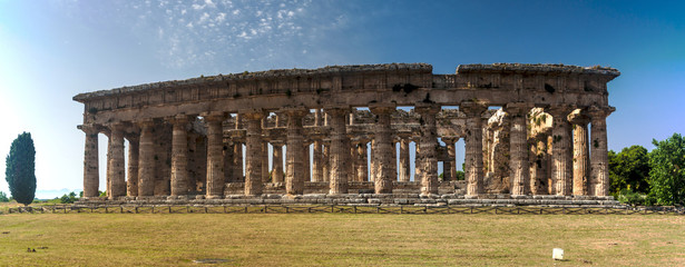 Classical greek temple