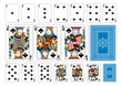 Poker size Club playing cards plus reverse - 72505104