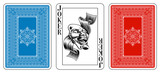 Poker size Joker playing card plus reverse - 72505141