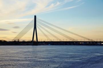 Bridge in Riga