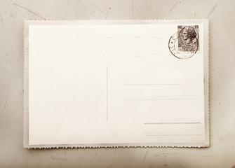 cartolina postale vintage