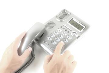Digital phone in hand