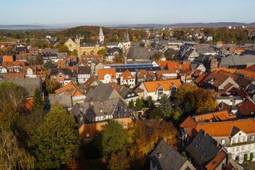 Herbstliches Goslar im Harz