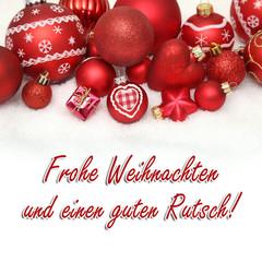 Frohe Weihnachten u. guten Rutsch!