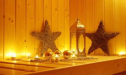 Weihnachtsurlaub mit Sauna
